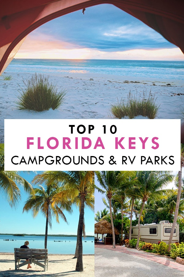 Top Florida Keys Camping Pin