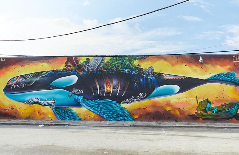 Wynwood Walls Clandestinos Mural