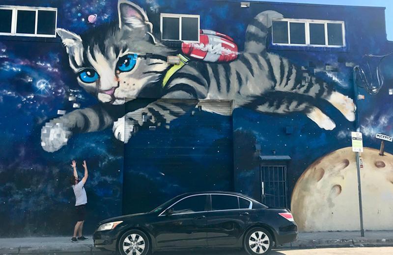 Wynwood Walls Muckrock Kitten Mural