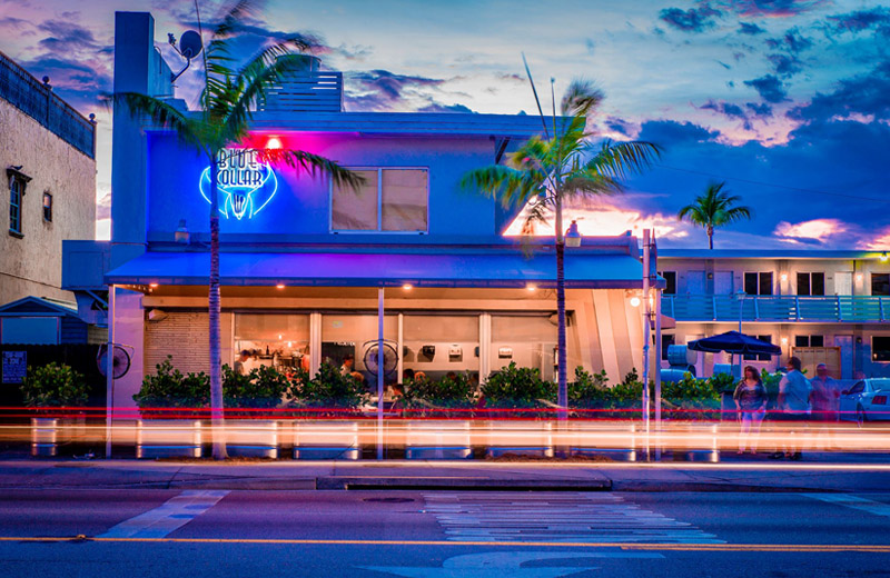Blue Collar North Miami Restaurant Exterior