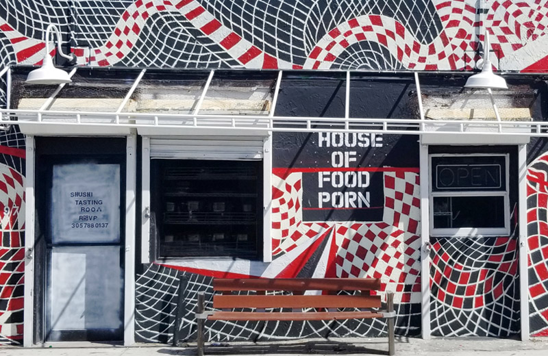 House of Food Porn North Miami Restaurant Exterior