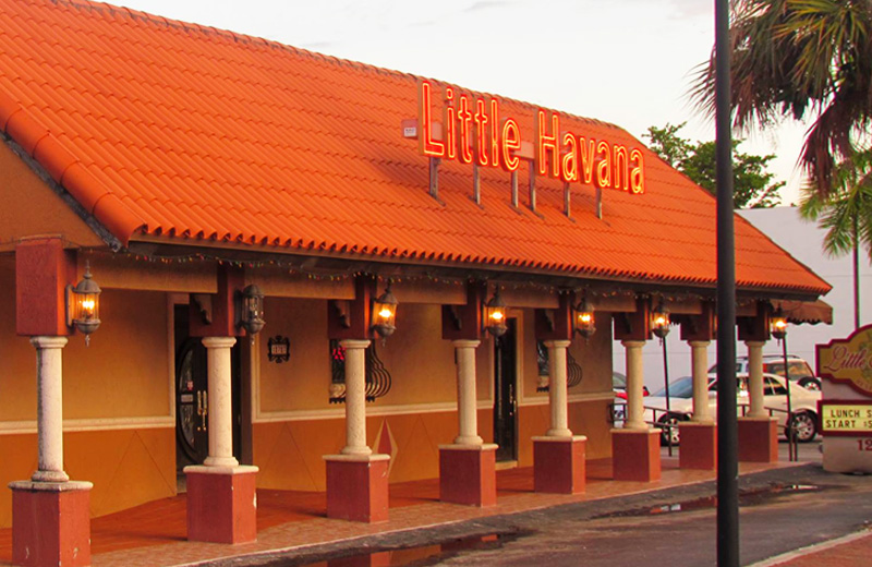 Little Havana North Miami Restaurant Exterior