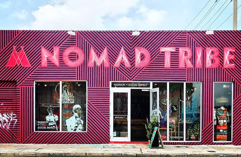 Nomad Tribe Miami Shopping