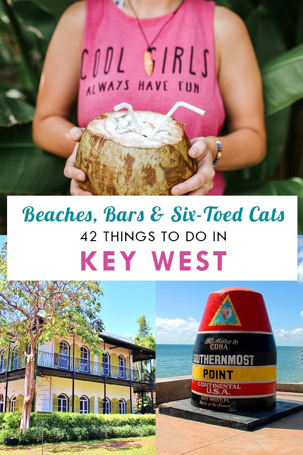 42 Things To Do in Key West Pin