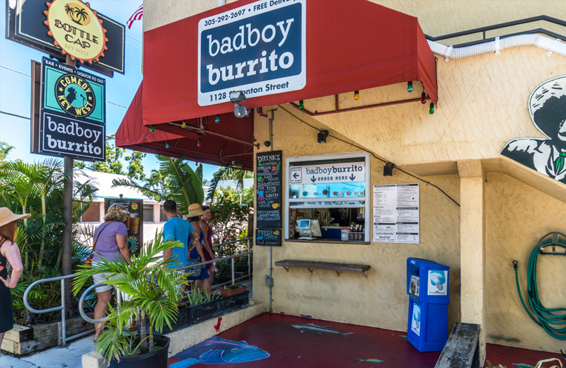Bad Boy Burrito Key West Restaurant